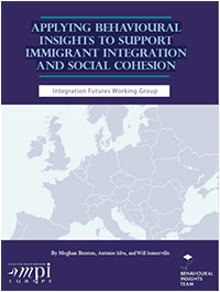 Titelseite des Buches: Applying Behavioral Insights To Support Immigrant Integration And Social Cohesion