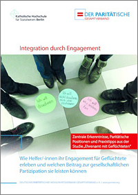 Titelseite der Publikation: Integration durch Engagement