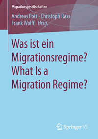 Titelbild des Buches: Was ist ein Migrationsregime? What Is a Migration Regime?
